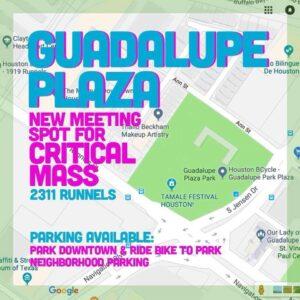 Critical Mass Friday @ Guadalupe Plaza Park | Houston | Texas | United States
